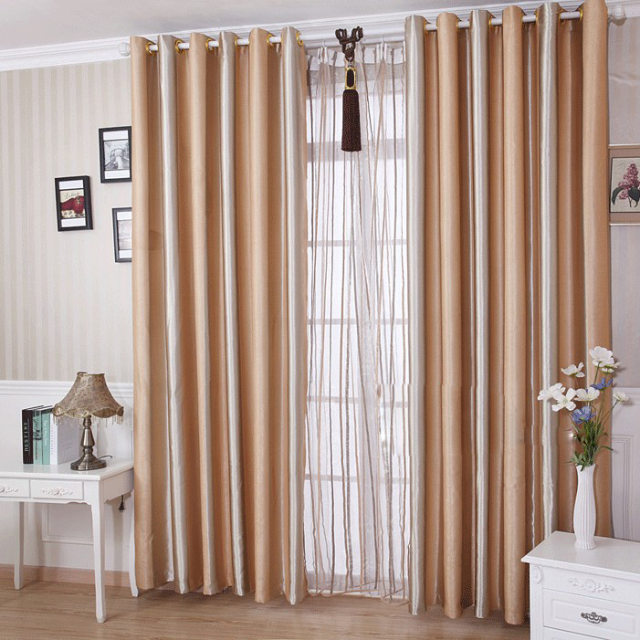 ... Living Room Curtains Ideas Striped Curtains ...