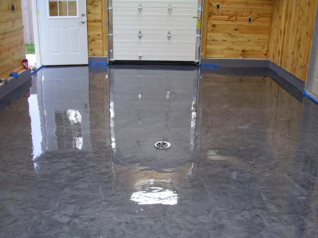 Cement Floor Epoxy Coating : Cool garage floor coating ideas to furnish your