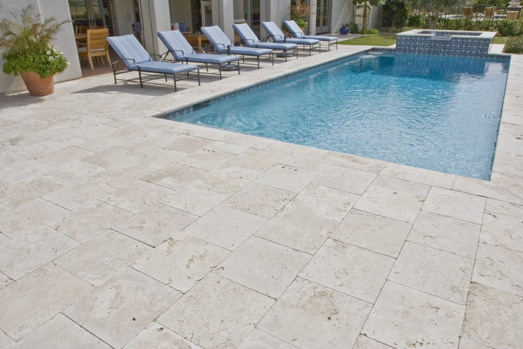 Use This Travertine Floor Tiles For Elegant Flooring Look